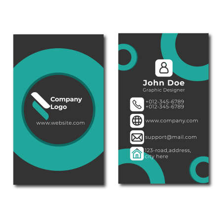 Corporative and official letterhead design template 写真素材 - 150679220