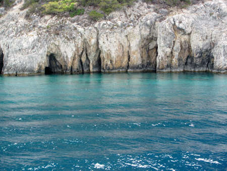 Ionian sea, Greece                                photo