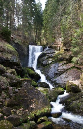 Waterfall in Triberg Black Forest, Germany photo