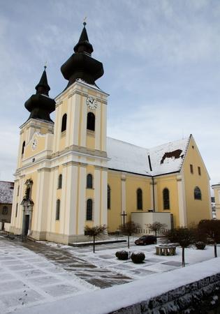 Pilgrimage Church Maria Taferl in Danube Valley, Austria
