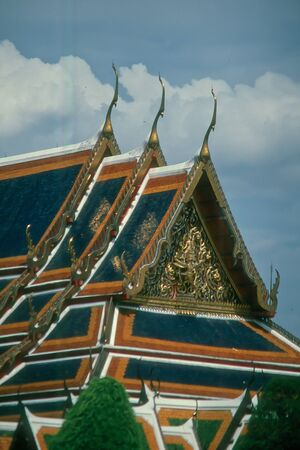 bangkok temple: Thailand, Bangkok  Temple , sky of bangkok