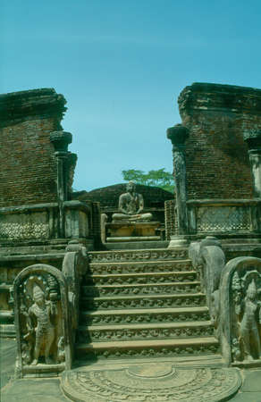 Vatadage, Polonnaruwa, Sri Lanka photo