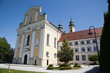 rot: Barock Church in Rot an der Rot Stock Photo