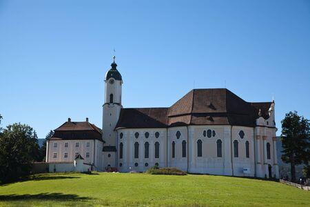 pilgrimage: Pilgrimage Church of Wies Stock Photo