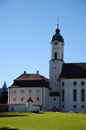 peregrinación: Iglesia de peregrinaci�n de Wies