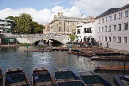 punt: Cambridge england