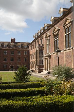 college building: Cambridge college,UK Editorial