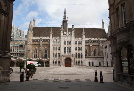 guild halls: Guildhall, City of London, UK