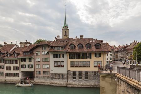 Panoramic view of Berne in Switzerland