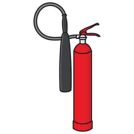 suppression: Fire Extinguisher Vector