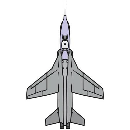 Plane vector, military