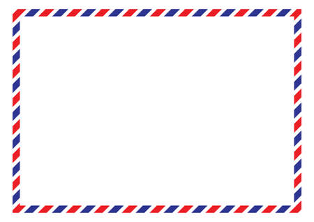Postal background. Vector illustration. Ilustrace