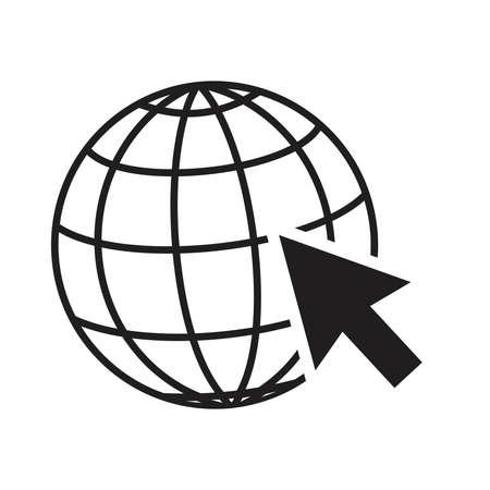 Website Icon,Go to web Icon
