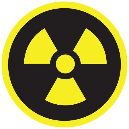 irradiation: Radiation Sign vector