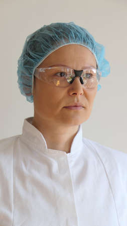 Asian woman nurse / doctor portrait