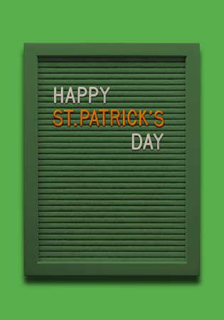 Message board Happy St. Patricks day