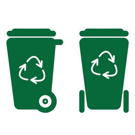 Recycle bin vector design Banque d'images - 149176010