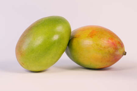 Mango isolated on white Banque d'images - 159444733