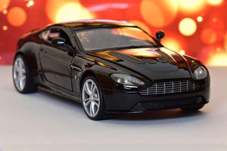 Toy car, luxury model