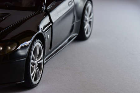 Luxury toy model of real car.