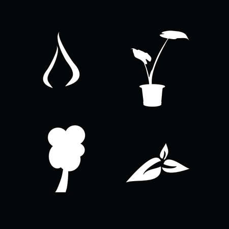 vegetate: flora icon illustration
