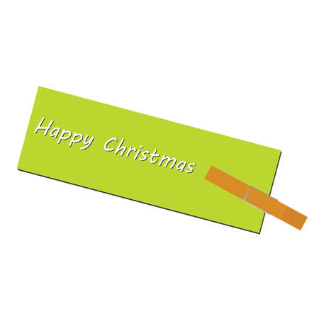 chrstmas: message for the holiday clip art illustration