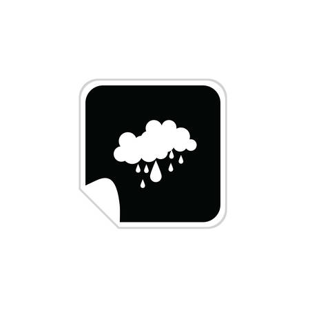 weather icons vector illustration on a white Vector
