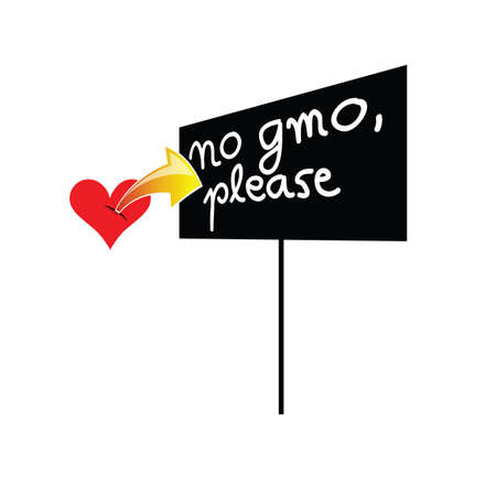 heartbeat with signboard color vector Vector