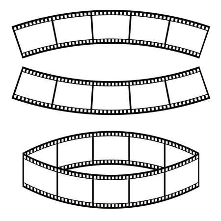 film tape entertainment art illustration Illustration