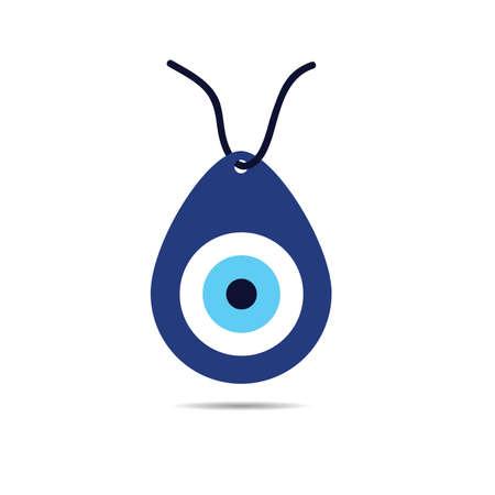 Greek evil eye vector - symbol for protection