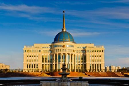 kazakhstan: Ak Orda presidential palace in Astana, Kazakhstan