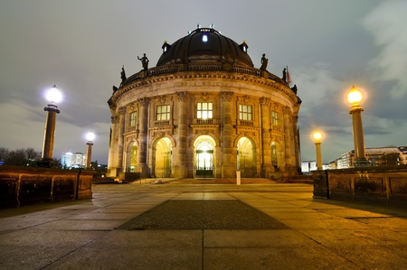 bode: bode museum in berlin, germany, at night Stock Photo