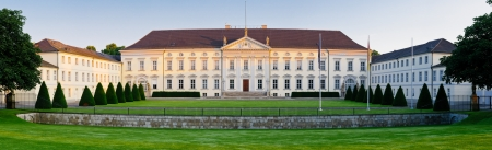 bellevue: Panorama with bellevue palace in berlin germany Editorial