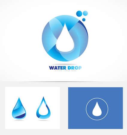 rain drop: icon element template water rain drop aqua