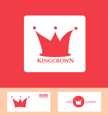 icon element template king crown royal