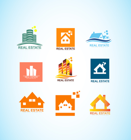 icon element template real estate realty