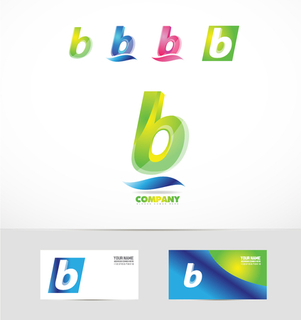 Vektor Firmenlogo Symbol Element Template Buchstaben N Alphabet ...