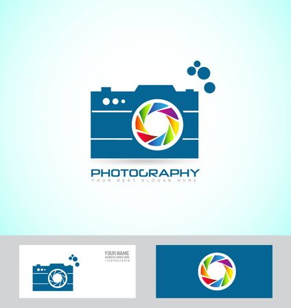 shutter aperture: icon element template shutter aperture colors photo photography camera