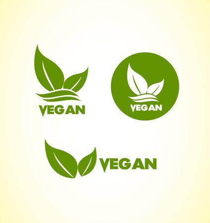 vegetarianism: icon element template vegan vegetarian healthy food