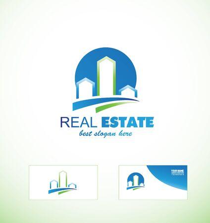 scape: icon element template real estate building city cityscape scape