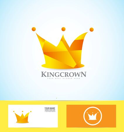 royalty: icon element template king royal royalty crown Illustration