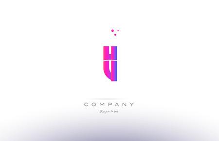 tl t l pink purple modern creative gradient alphabet company logo design vector icon template Logó