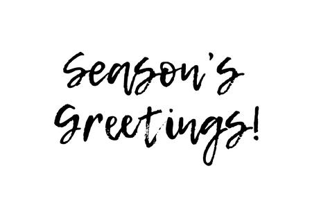 Season s greetings black white text postcard royalty free cliparts season s greetings black white text postcard stock vector 84888542 m4hsunfo