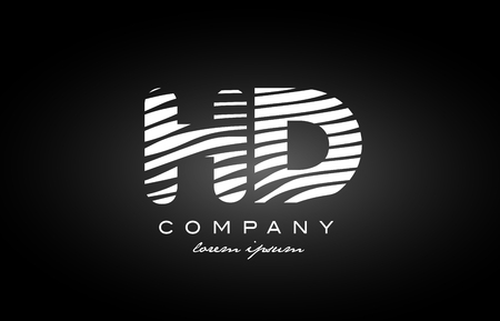 Hd h d letter logo combination black white alphabet vector creative hd h d letter logo combination black white alphabet vector creative royalty free cliparts vectors and stock illustration image 84888763 thecheapjerseys Images