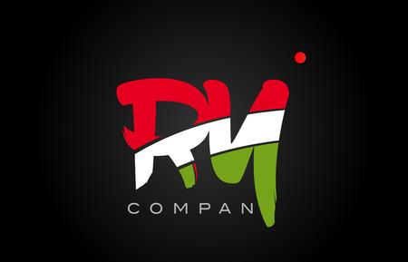 AR A R Letter Logo bination Alphabet Royalty Free Cliparts