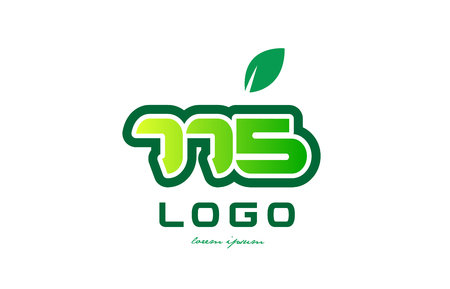 Design of number numeral  digit 775 with green leaf and color suitable for a business or company.