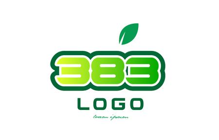 Diseño Del Número Número Dígito 99 Con Hoja Verde Y Color Adecuado ...
