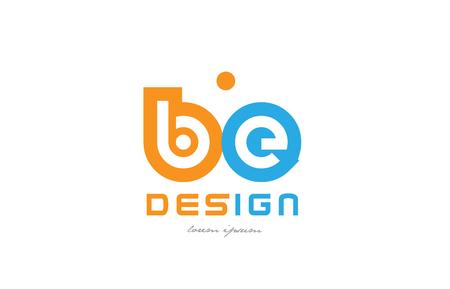 Alphabet letter symbol design Illustration