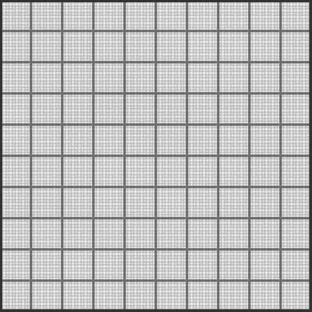 Realistic tileable texture of black grid on white paper   photo