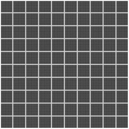 Realistic tileable texture of white grid on black paper. photo